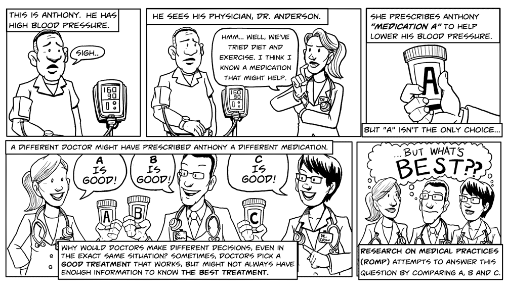 Comic from The ROMP Ethics Study
