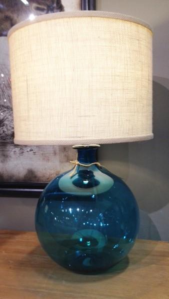 pr italian recycled glass lamp lighting