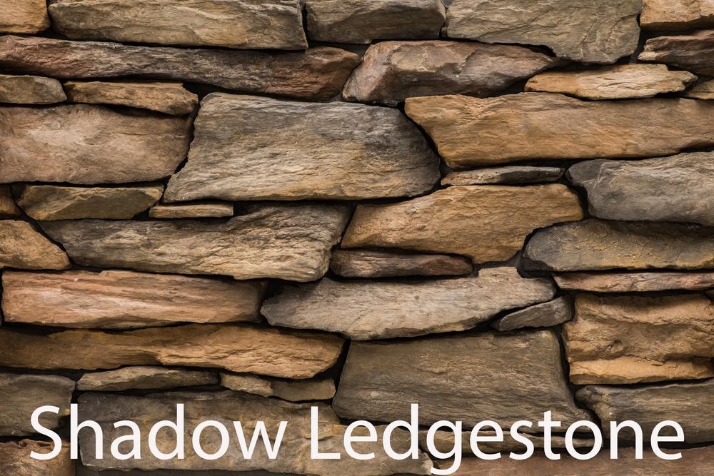 Shadow Ledgestone - Durango Brown