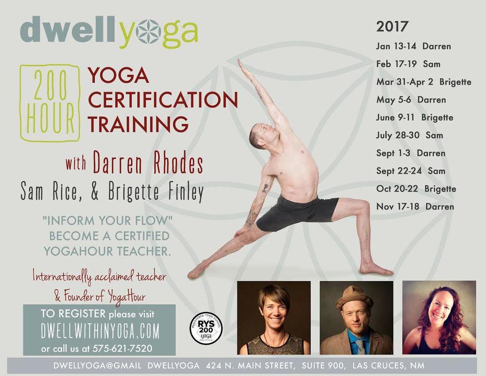 2oo Hour Yoga Certification Training Dwell Yoga