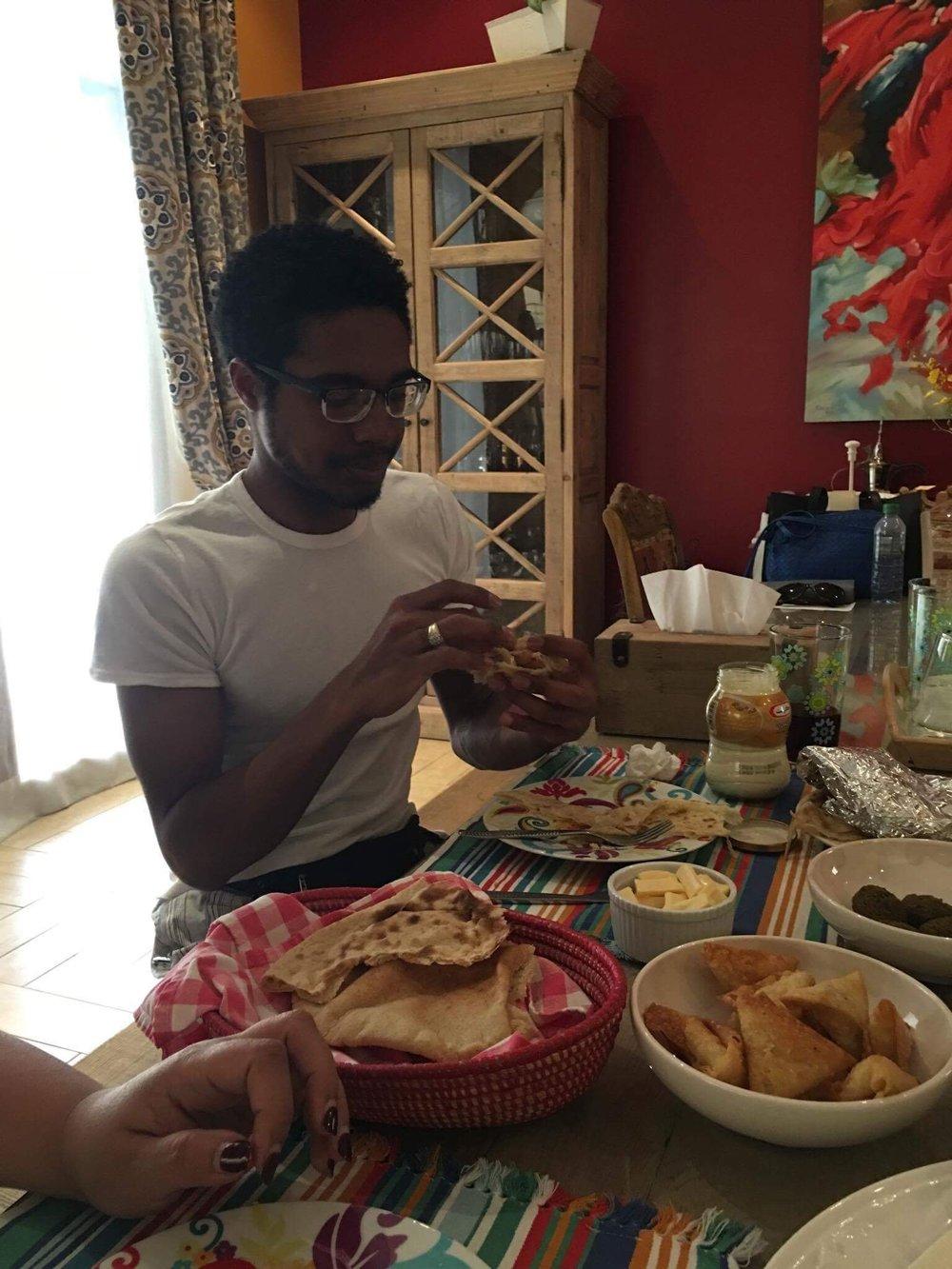 breakfast at Eman's