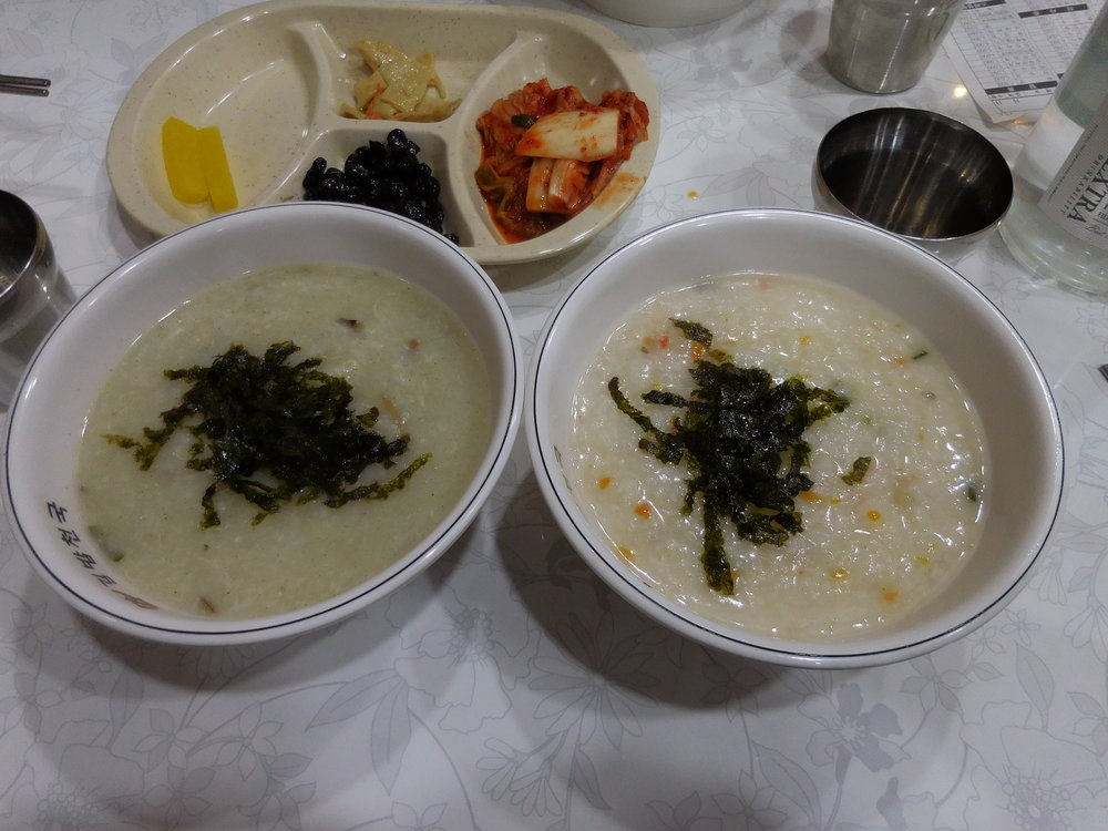 Porridge--so great for a cold day!