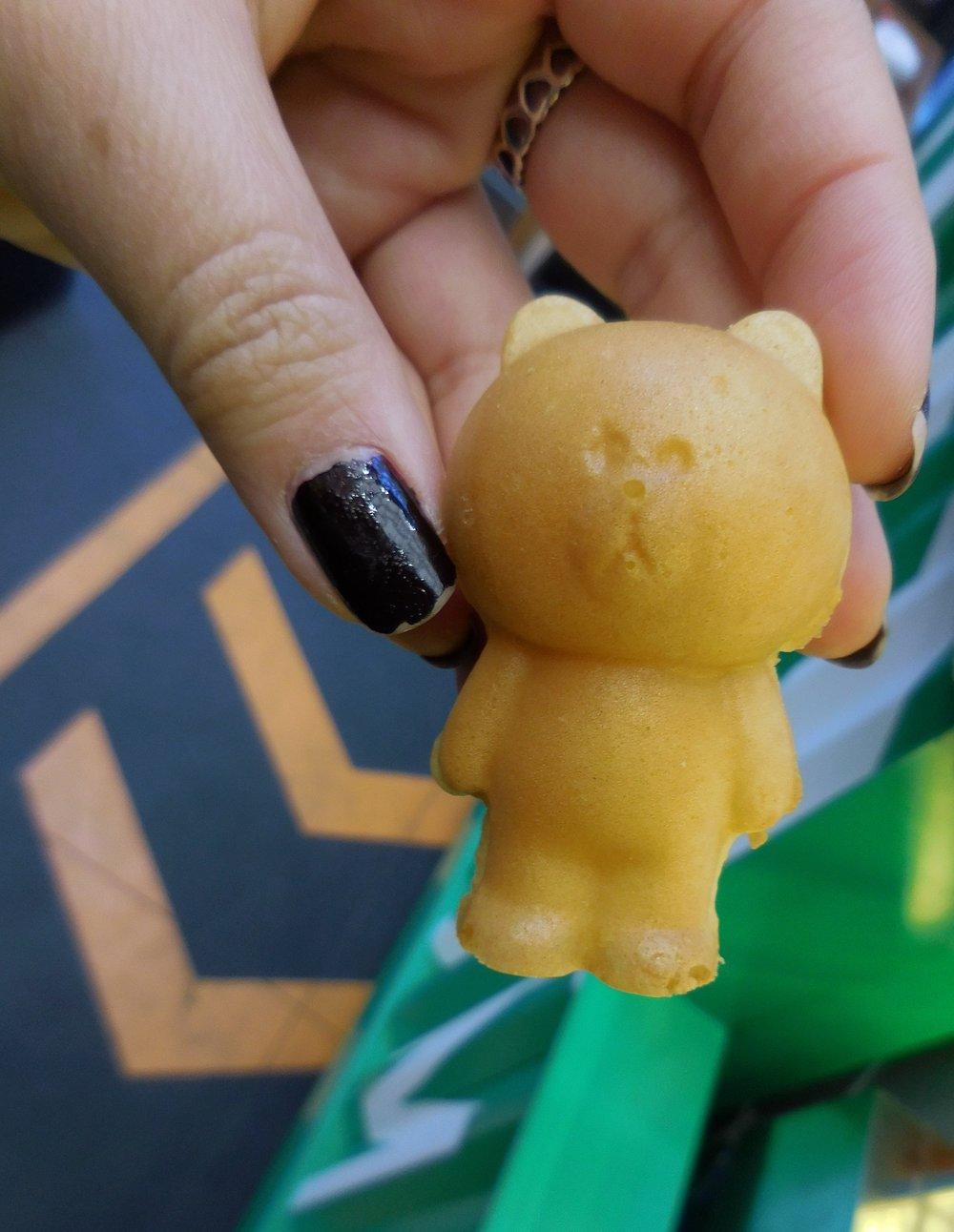 Teddy bears with custard inside!