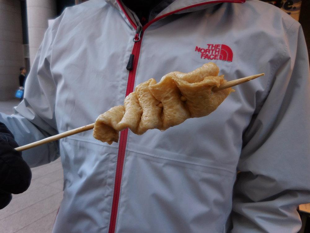 Fish cake on a stick!