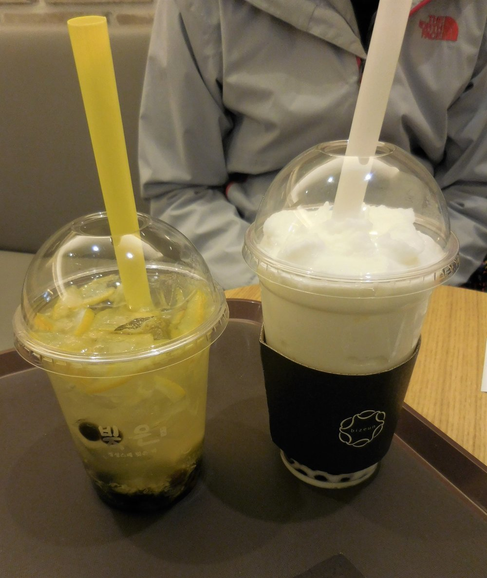 Boba is not as popular in Korea as I would have liked!