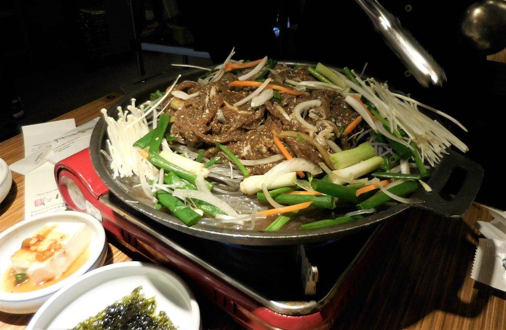 Another bulgogi stew dish!