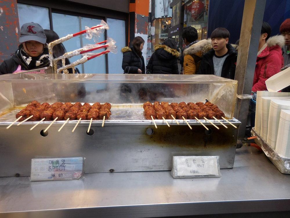 Meatballs on a stick!