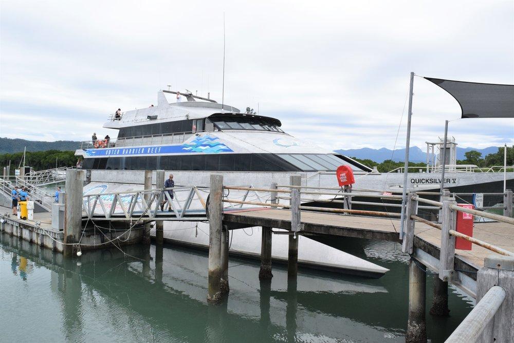 Our pontoon!