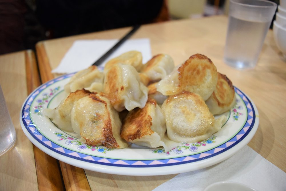 Homemade Dumplings -- cooked perfectly and SO good