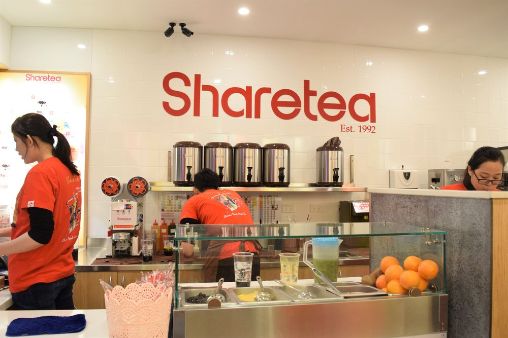 My first time trying Sharetea, so yummy! It's in the US too!