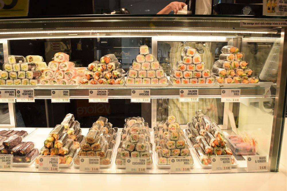 Sushi rolls so yummmm