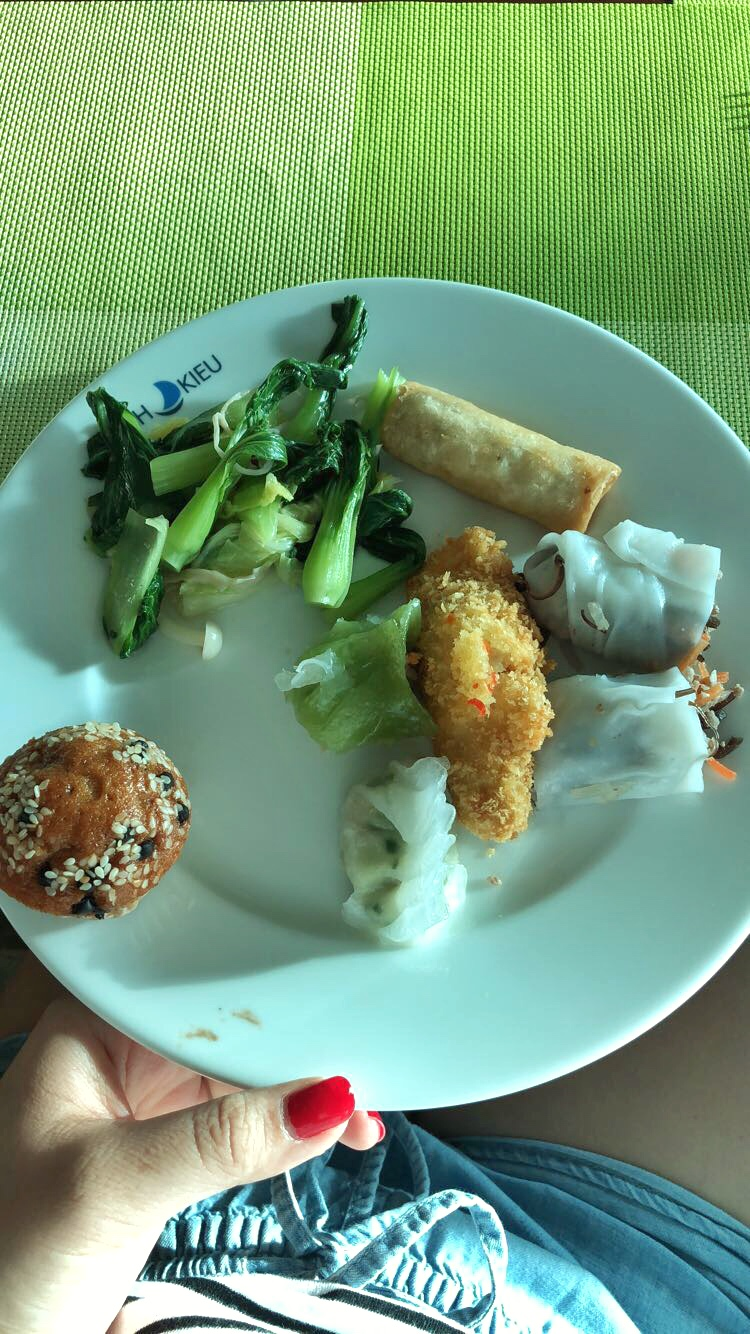 Chinese Vegetable, Spring Roll, Fried Fish, Dim Sum, Muffin!