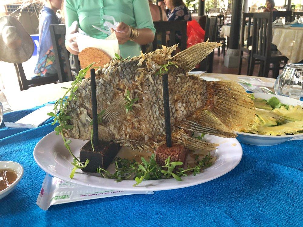 Fried Whole Fish!