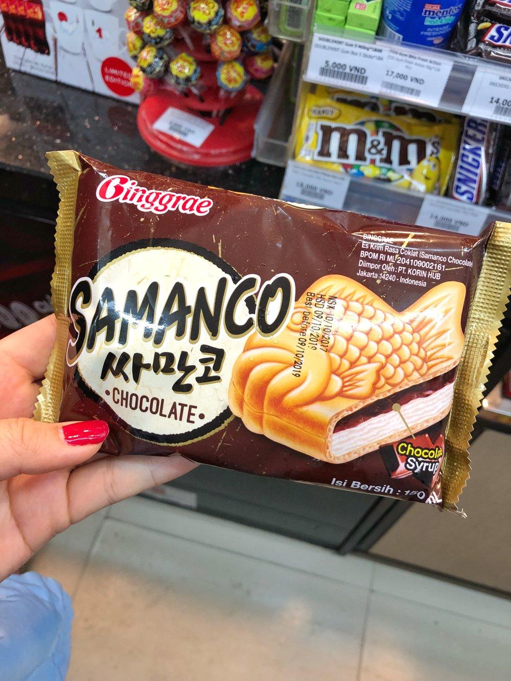 I LOVE convenience store ice cream!!