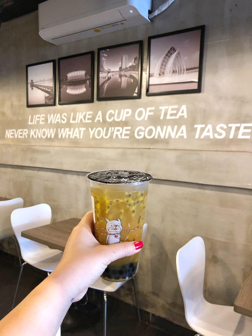 Passionfruit Tea!