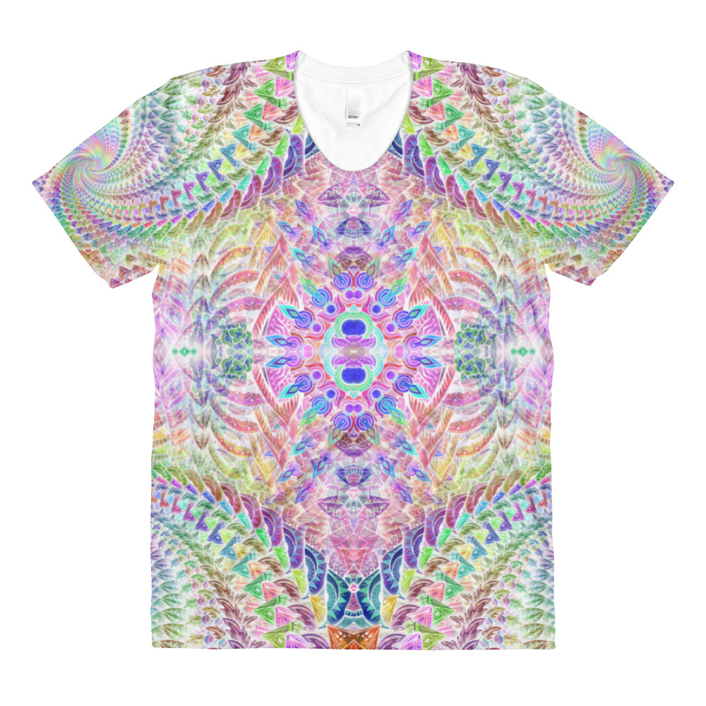 Rainbow Madness All over print T-shirt.jpg