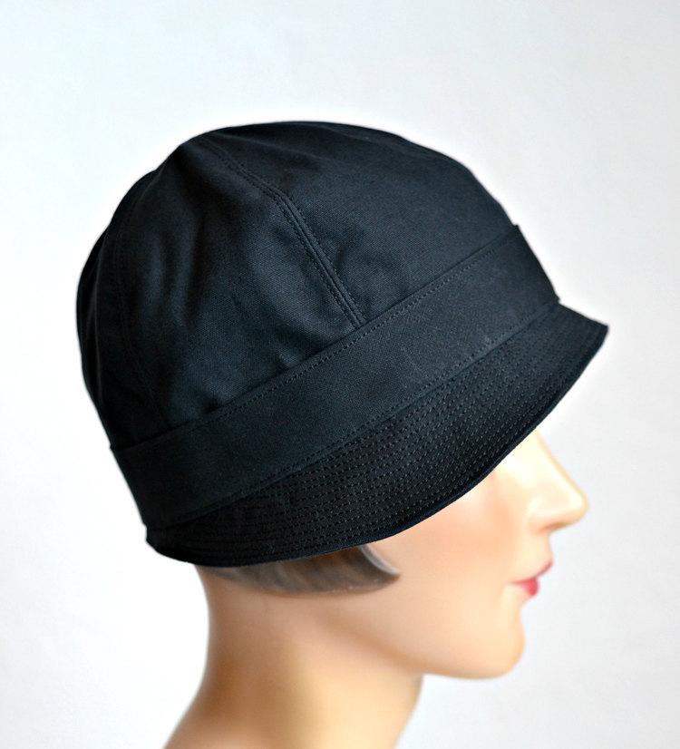 Cloche Rain Hat - Waxed Canvas Rain Hat - Made to Order 20c9b1a14eb