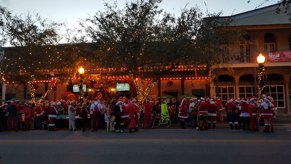 O'Riley's Santa Pub Crawl 2015