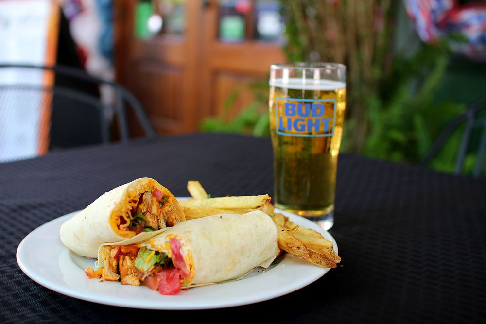 Palafox Chicken Wrap