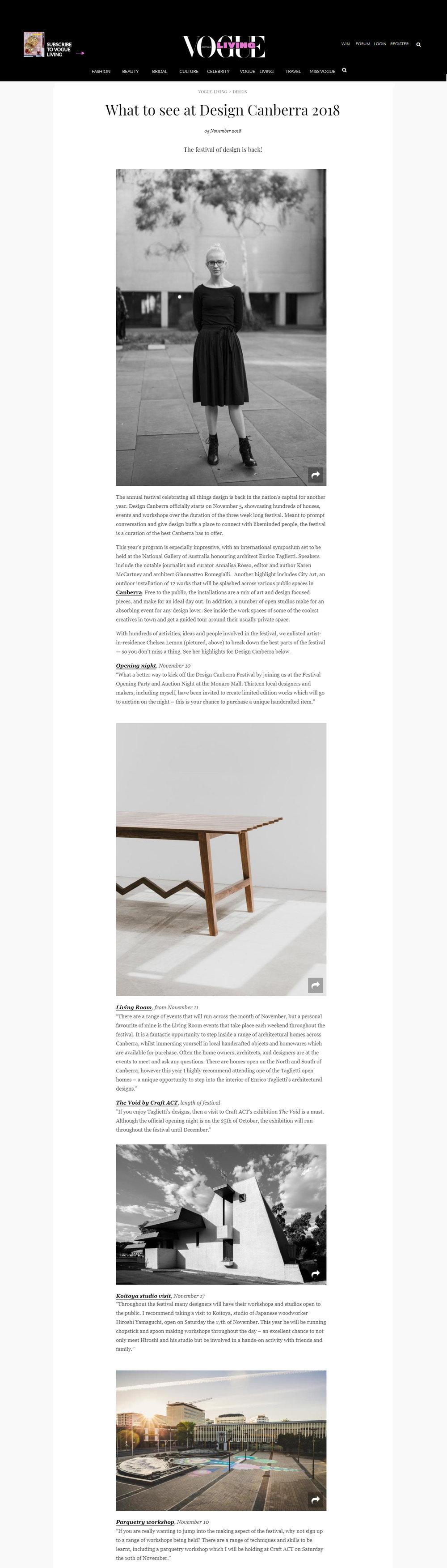Vogue Chelsea Lemon Canberra Furniture Design