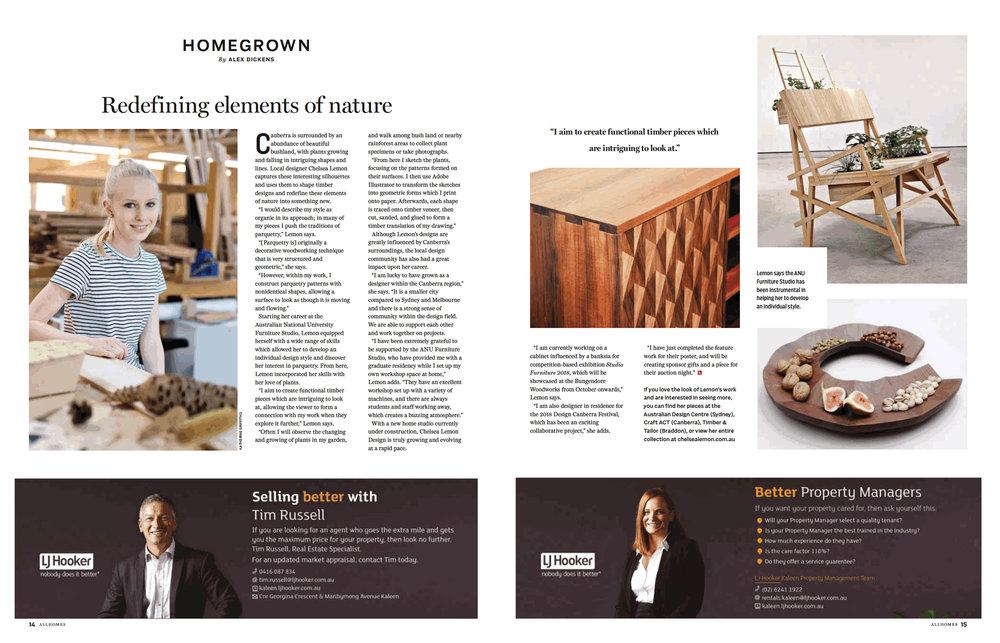 Allhomes Chelsea Lemon Canberra Furniture Design