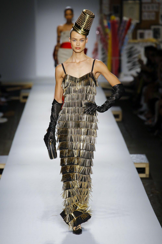 Moschino SS19 Jeremy Scott Thimble Dress