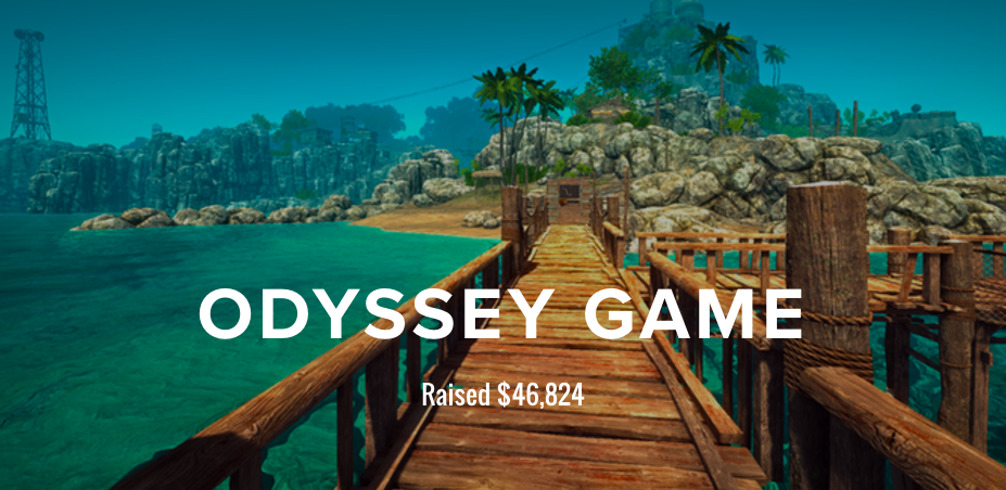 Explore the Odyssey Game Kickstarter campaign here.