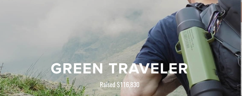 Learn from the Green Traveler Kickstarter project here.
