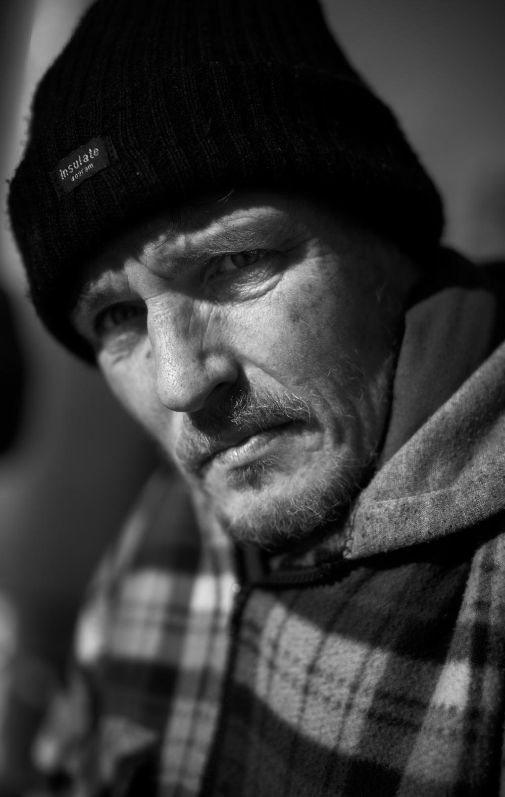'Ian, Homeless'