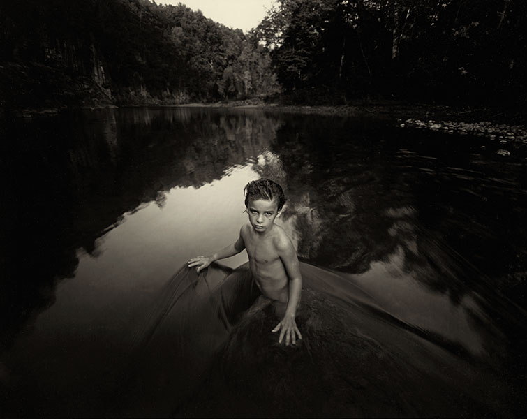 Copyright © Sally Mann. All Rights Reserved. Sally Mann's work is heartbreakingly beautiful and wihle the images she made were all of her own children, she has received a lot of very vocal criticism because of the nudity they show. Some have even suggested that it is pornographic and tantamount to abuse.