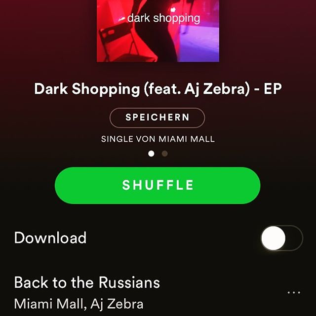 "MIAMI MALL EP ""dark shopping 🛒"" out  @spotify"