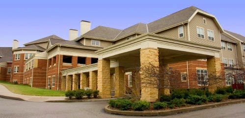Exterior photo of a typical nursing home