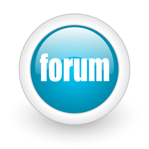 picture of forum button