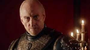 Tywin Lannister, older, white, stern-faced balding man