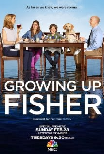 "Poster for TV show ""Growing Up Fisher"""