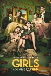 "Promotional poster for ""Girls"" TV show"