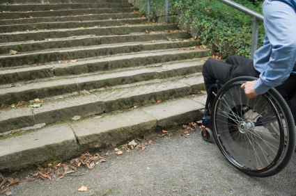 wheelchair - steps photo