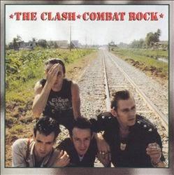 album cover of The Clash - Combat Rock