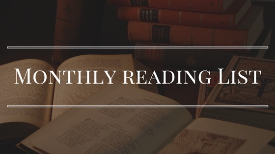 Monthly Reading List banner