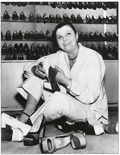 Beth Levine in her 6th Ave. Showroom, 1