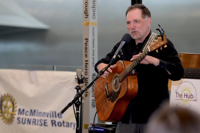 Peace Troubadour, Jerry Leggett