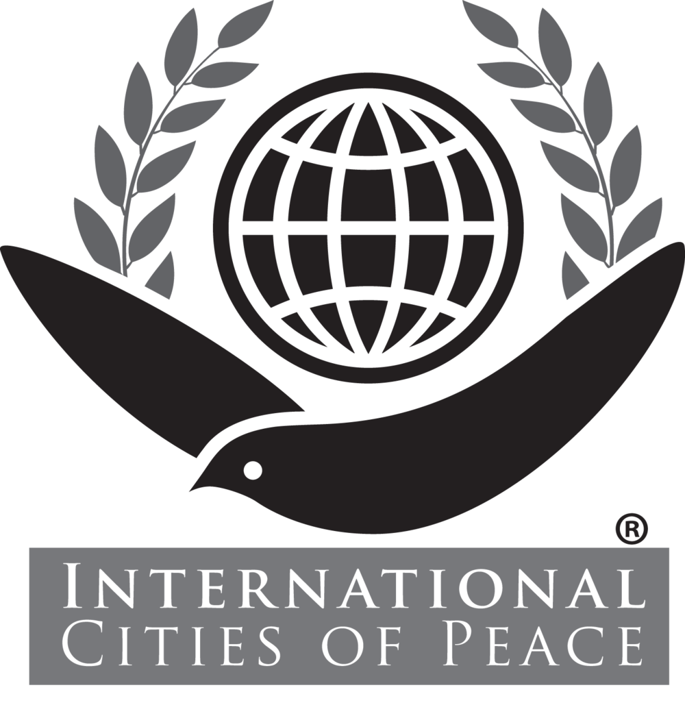 International Cities of Peace is a Dayton-based organization founded by Fred Arment.  More info at:  http://www.internationalcitiesofpeace.org/