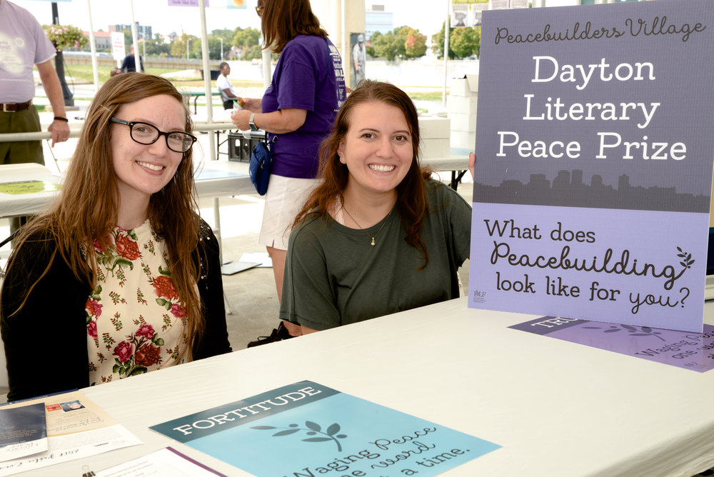 Dayton Literary Peace Prize is one of Dayton's greatest treasures!