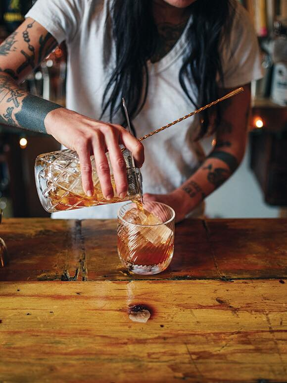 Rust And Bone Cocktail By Sandy De Almeida. Photo: Ian Patterson.