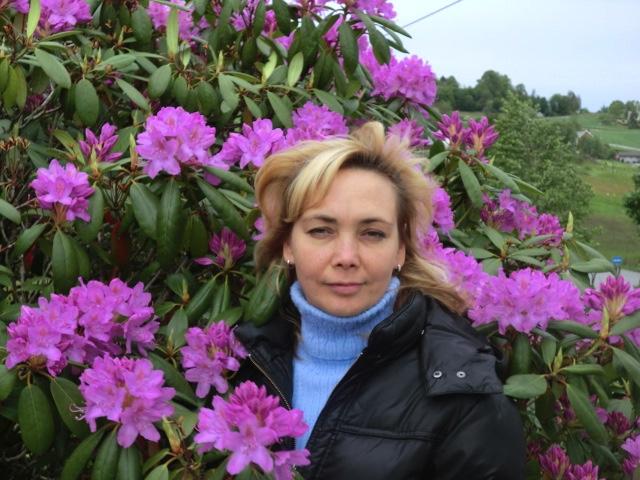 Interessen strekker seg over hele hagefeltet, så Olenas videoblogg har mye til både nytte og pryd.