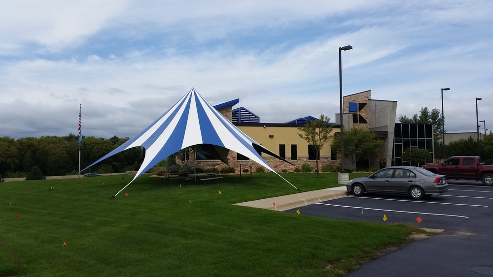 Blue TP Tent & Tents u2014 Majestic Tents and Events