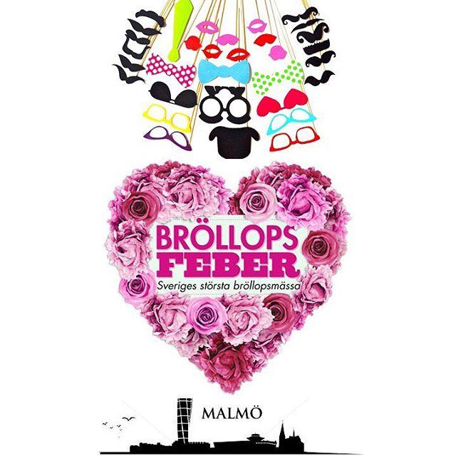 I helgen 3-4 februari hittar ni oss på @brollopsfeber i Malmö! Kom förbi oss i monter A2:08 och fota er samt ta del av grymma erbjudanden.
