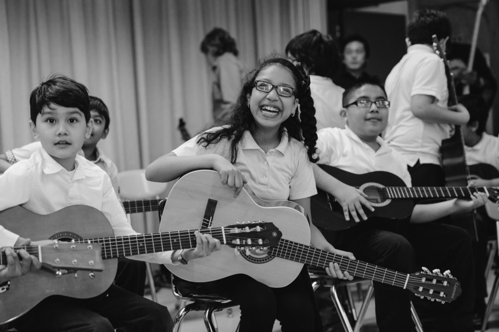 NONPROFIT We're a proud supporter of Little Kids Rock, a nonprofit that has transformed the lives of over 400,000 kids through music programs in public schools. We ask all participants to consider making a donation or contributing their talents to this amazing organization.