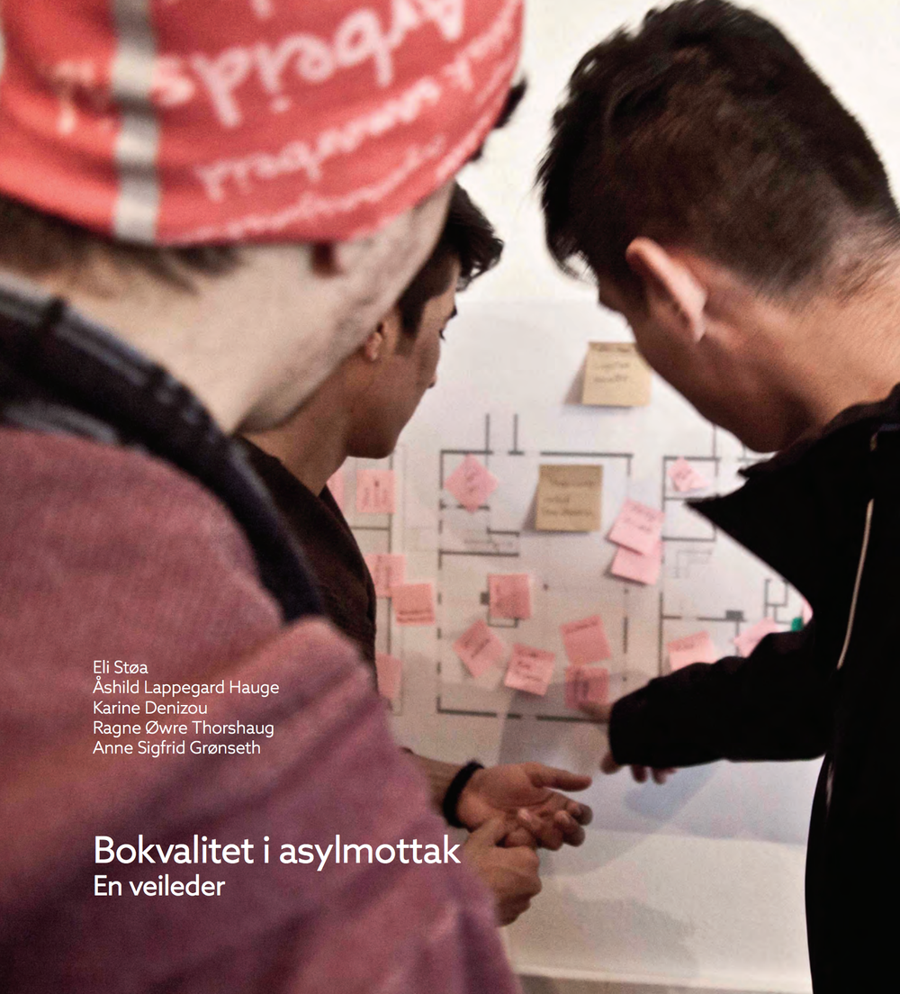 """MAKERS'HUB IS INCLUDED IN THE RESEARCH CONDUCTED BY NTNU/SINTEF: """"En veileder - bokvalitet i asylmottak"""", June 2016"""