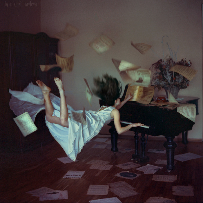 Distorted Gravity by Anka Zhuravleva